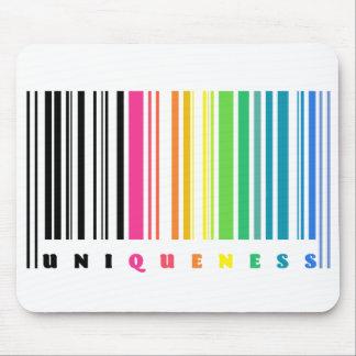 Rainbow Barcode Mousepad