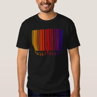 Rainbow Barcode T Shirt