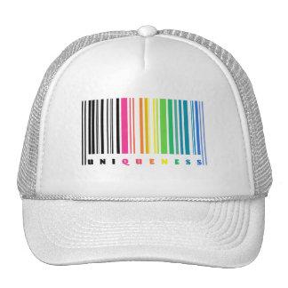 Rainbow Barcode Uniqueness Hat
