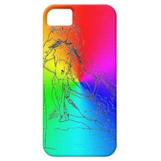 Rainbow Barrel Racer II - iPhone 5/5S Case