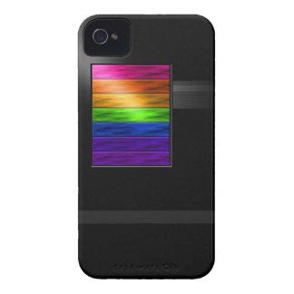 Rainbow Bars BarelyThere Case-Mate iPhone 4 Case