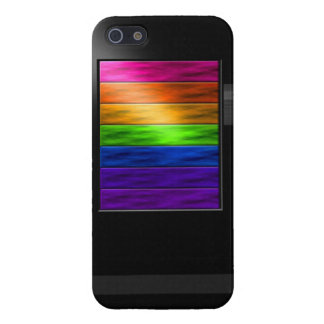 Rainbow Bars Case For iPhone SE/5/5s