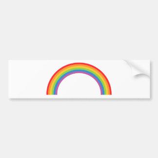 Rainbow-Basic Car Bumper Sticker