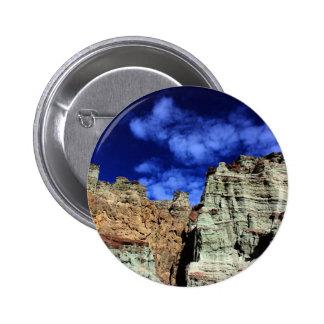 Rainbow Basin Pinback Button