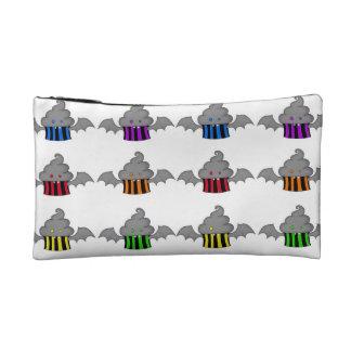 Rainbow Batty Cupcake Friends Makeup Bag