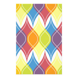 Rainbow Baubles Stationery Paper