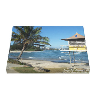 Rainbow Bay, Queensland, Australia. Gallery Wrap Canvas