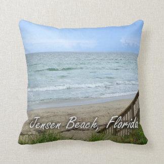 Rainbow Beach Steps Jensen Beach Florida Pillows