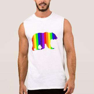 Rainbow Bear Sleeveless Muscle Shirt