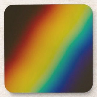 Rainbow Beverage Coaster