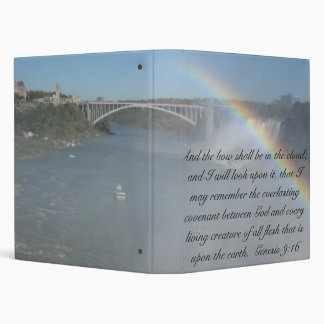 Rainbow Bible Scripture Binder
