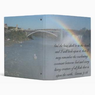 Rainbow Bible Scripture Binder