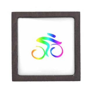Rainbow Bicycle 2 Jewelry Box