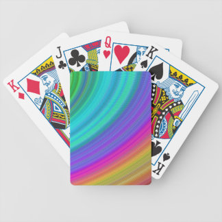 Rainbow Bicycle Playing Cards