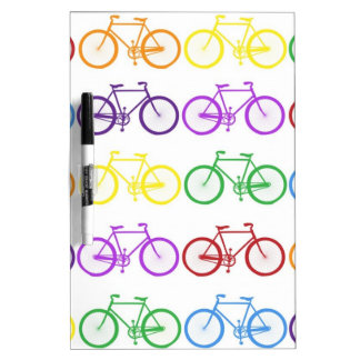 Rainbow Bicycling Classy Designer Dry-Erase Board