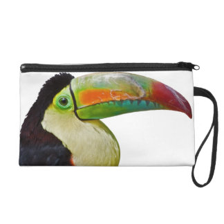 Rainbow-Billed Toucan Bag Wristlet Clutch