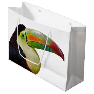 Rainbow-Billed Toucan Gift Bag Large Gift Bag