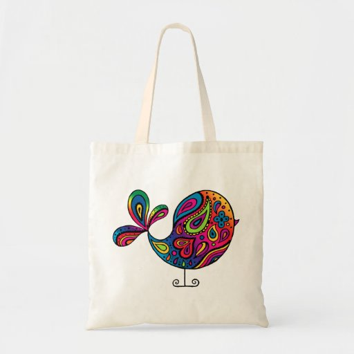 Rainbow Bird Bag
