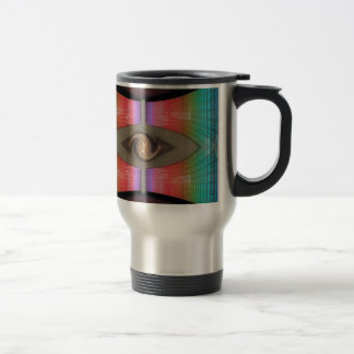 Rainbow Bird Coffee Mug