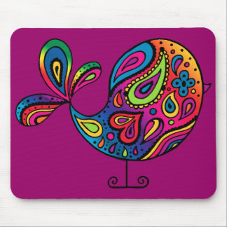Rainbow Bird Mousepad