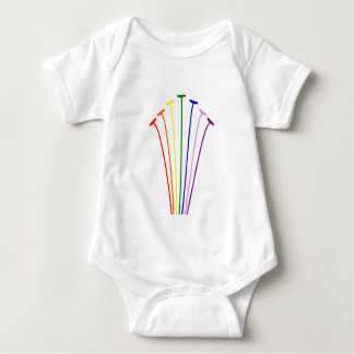 Rainbow Birds T Shirt