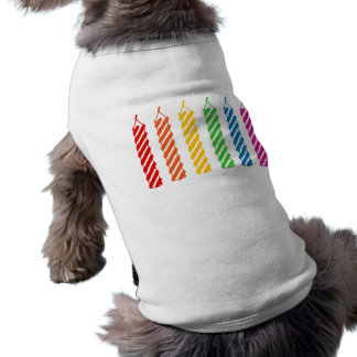 Rainbow Birthday Candles Shirt