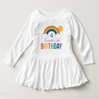Rainbow Birthday Shirt | Custom T-Shirt Design