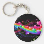 Rainbow Blast Key Chains