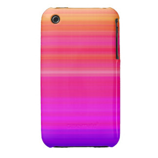 Rainbow Blend in red blue and pink Case-Mate iPhone 3 Cases