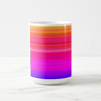 Rainbow Blend in red blue and pink Coffee Mug