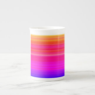 Rainbow Blend in red blue and pink Tea Cup