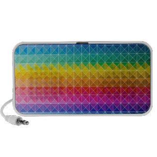 Rainbow Blend iPod Speakers