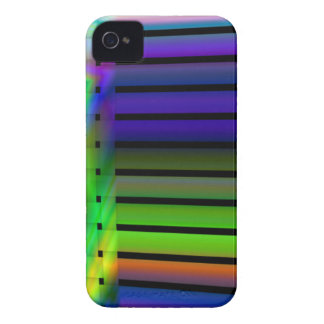 rainbow blinds iPhone 4 cover
