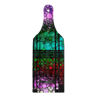Rainbow Bling Pattern Cutting Board