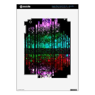 Rainbow Bling Pattern iPad 3 Skins