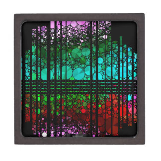 Rainbow Bling Pattern Jewelry Box