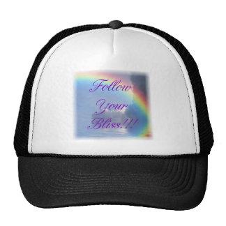 RAINBOW BLISS T TRUCKER HAT
