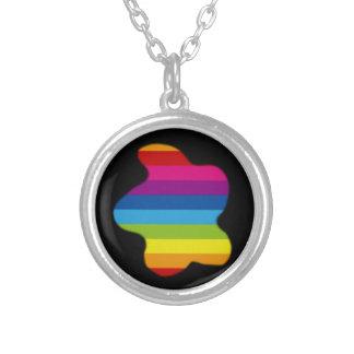 Rainbow Blob Necklaces