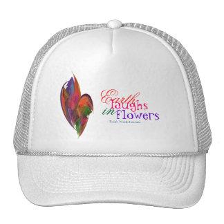 Rainbow Blossom Fractal Trucker Hat