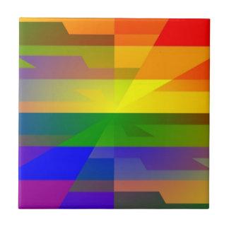 Rainbow Blotch Tile