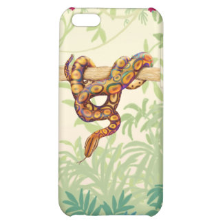 Rainbow Boa Snake iPhone Case Cover For iPhone 5C