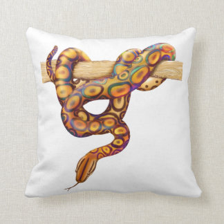 Rainbow Boa Snake Pillow
