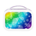 Rainbow Bokeh Pattern Lunchboxes