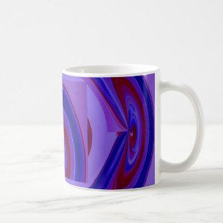 RAINBOW Bold - Royal Blue n Red Mugs