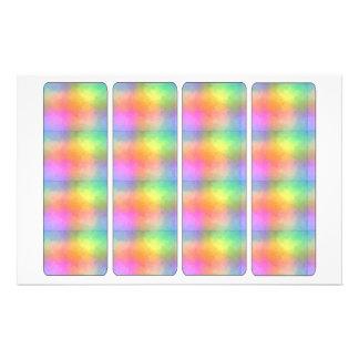 Rainbow Bookmarker Custom Flyer