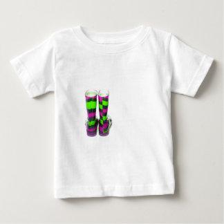 Rainbow Boots Baby T-Shirt