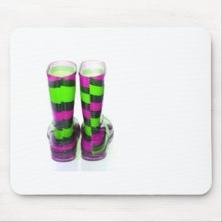 Rainbow Boots Mouse Pad