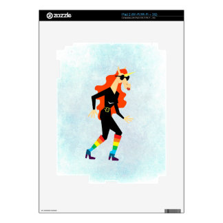 Rainbow Boots Unicorn iPad 2 Skins