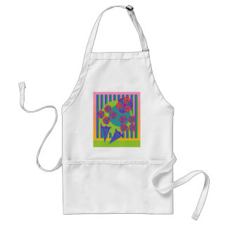 Rainbow Bouquet Adult Apron
