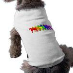 Rainbow Boxer Pet Tee